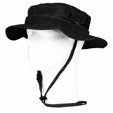 Bush/ranger hoed zwart volwassenen