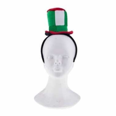 Diadeem pluche italie hoedje