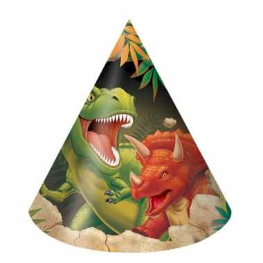 Dinosaurus feesthoedjes stuks