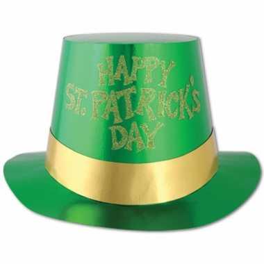 Groene hoed st Patricks day
