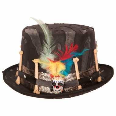 Halloween day of the dead hoed volwassenen