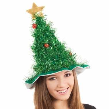 Kerstboom hoed volwassenen