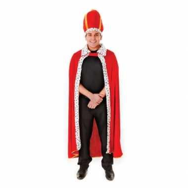 Koning cape met hoed