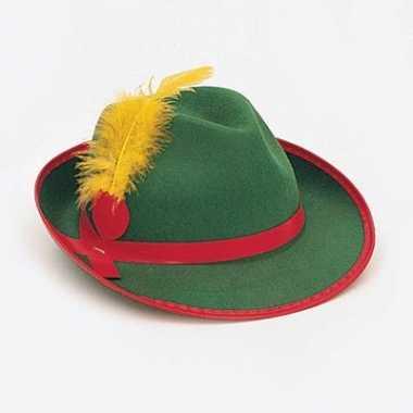 Oktoberfest hoed groen