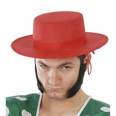 Rode spaanse hoed heren