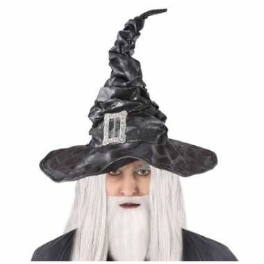 Tovenaars verkleed hoed zwart volwassenen