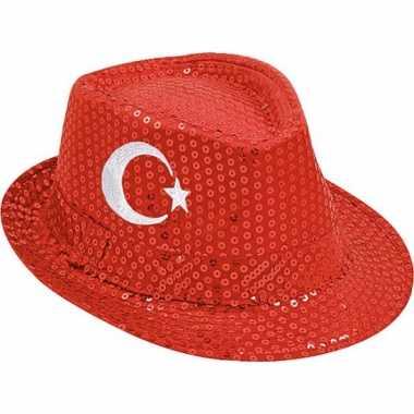Turkije trilby hoed