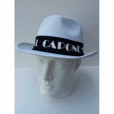Witte Al Capone hoed