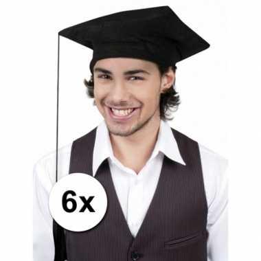 X Afstudeer hoedjes geslaagd