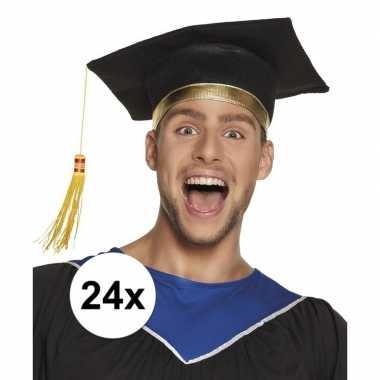 X afstudeerhoedje / geslaagd hoedje volwassenen