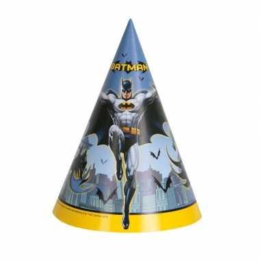 X batman themafeest punthoedjes