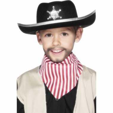 X stuks cowboyhoed kinderen