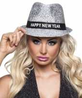 Glitter hoed happy new year