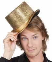 Gouden hoge hoed