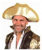 Gouden markies hoed