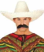 Naturel sombrero mexicaanse hoed volwassenen 10148187
