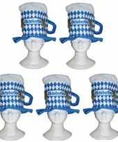 Oktoberfest bierpul oktoberfest verkleed hoeden 10164296