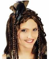 Piraten hoedje aan diadeem dames